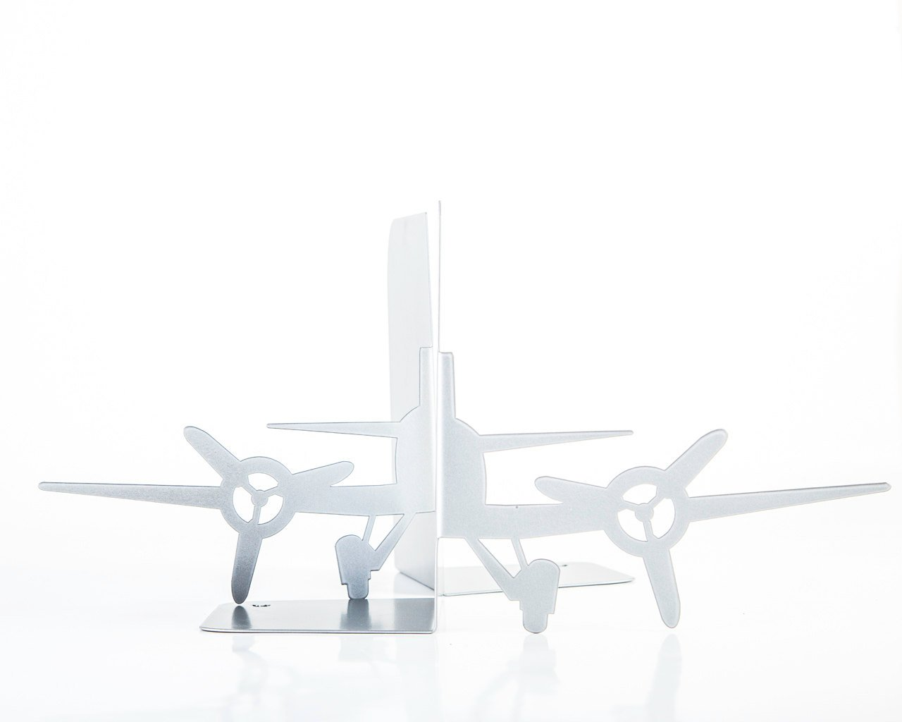 Unique bookends - Plane from the past - // FREE DELIVERY WORLDWIDE // functional decor modern home // housewarming present //nursery theme