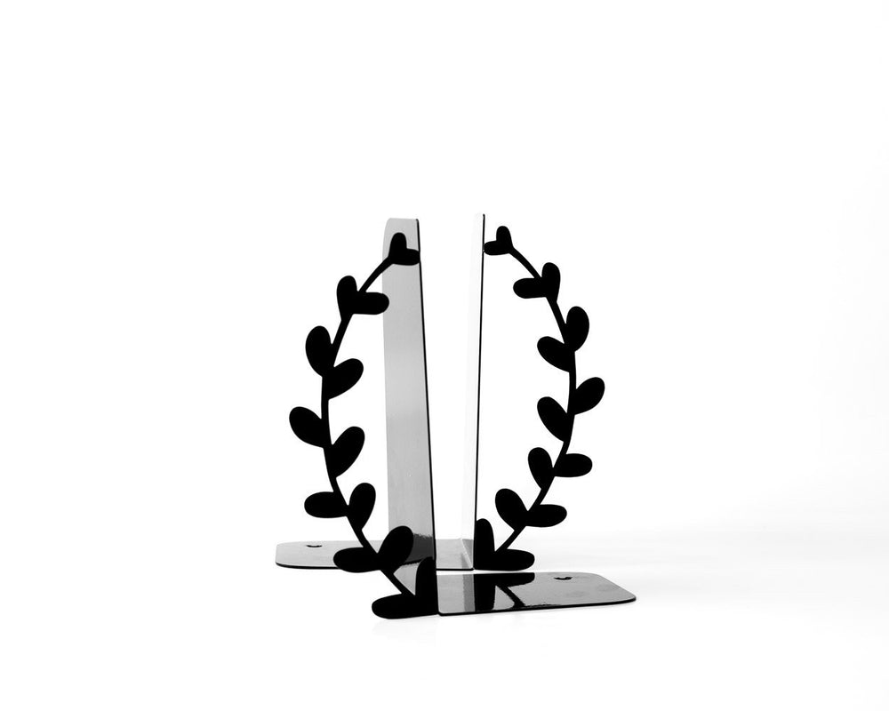 Metal bookends Wreath by Atelier Article - Design Atelier Article