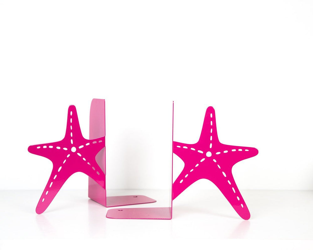 Metal Bookends -Sea stars- Decor for a beach themed space by Atlier Article - Design Atelier Article