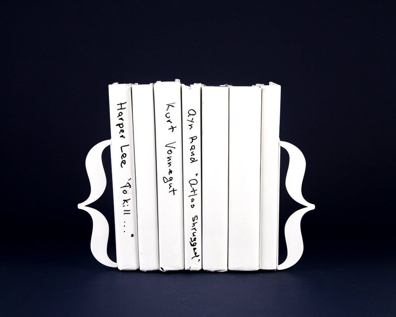 Bookends Curly braces // brackets // Gift for a Reader by Atelier Article - Design Atelier Article