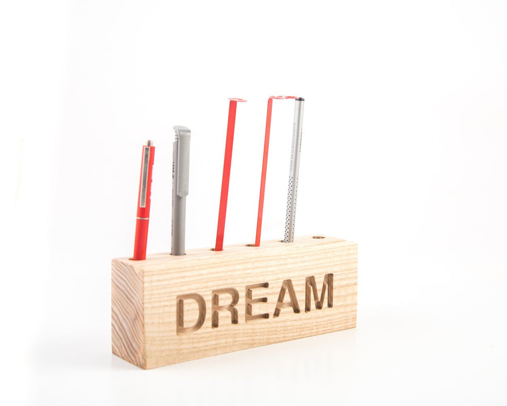 Desk organizer for pencils, brushes and pens. DREAM by Atelier Article - Design Atelier Article
