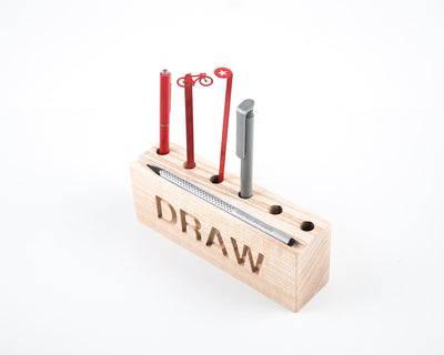 Desk organizer for pencils, brushes and pens DRAW by Atelier Article - Design Atelier Article