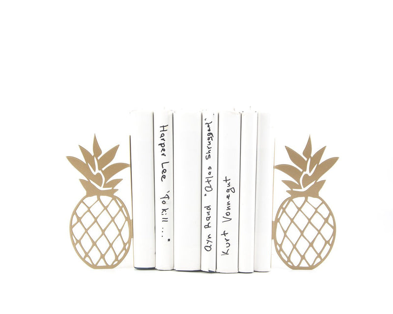 Metal bookends Pineapples by Article