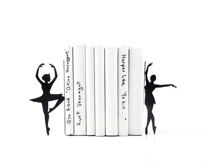 Metal Bookends Ballerinas // Passé simple // Ballet Nursery theme // Modern Home Decor / Gift for a ballet dancer // Free Shipping Worldwide - Design Atelier Article