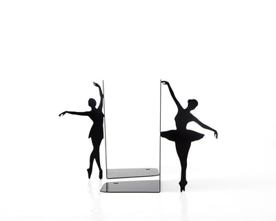 Metal Bookends Ballerinas // Allongée // Ballet Nursery theme // Modern Home Decor / Gift for a ballet dancer // Free Shipping Worldwide - Design Atelier Article