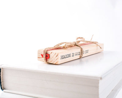 Metal Bookmark for Books // Texas My Texas - Design Atelier Article
