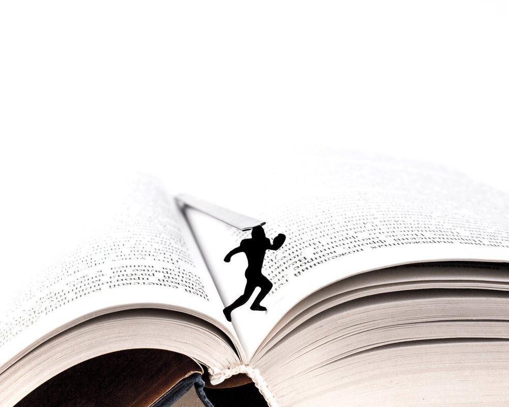 Metal Bookmark for Books Football Player by Atelier Article - Design Atelier Article