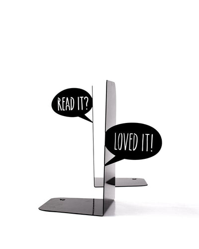 Metal Bookends - Dialogue of book lovers by Atelier Article - Design Atelier Article