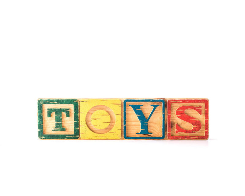 Sign TOYS Children's room decor // Modern nursery decor from  Salvaged Wood // Wall sigh // Free Shipping Wordwide