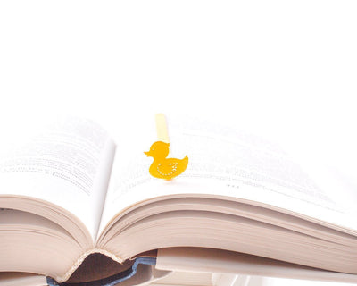 Metal Bookmark Yellow Duck by Atelier Article - Design Atelier Article