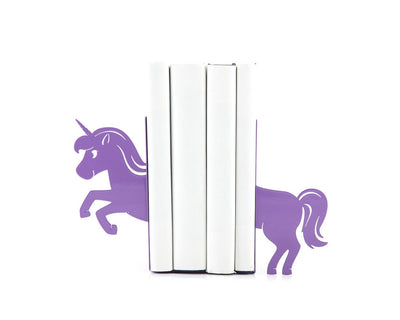 Nursery bookends Unicorn // childrens bookends // modern home // FREE SHIPPING - Design Atelier Article