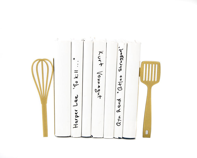 Kitchen Bookends Spatula & Whisk fot your kitchen by Atelier Article