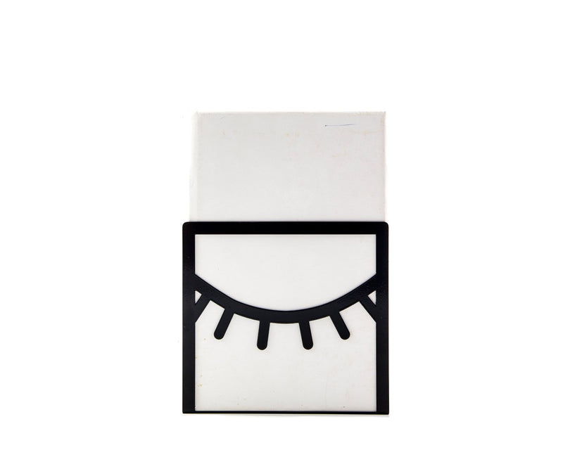 Bookend One Eye Closed black - Design Atelier Article