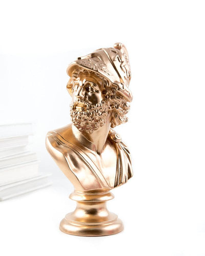 Bust Pericles Sculpture Golden edition
