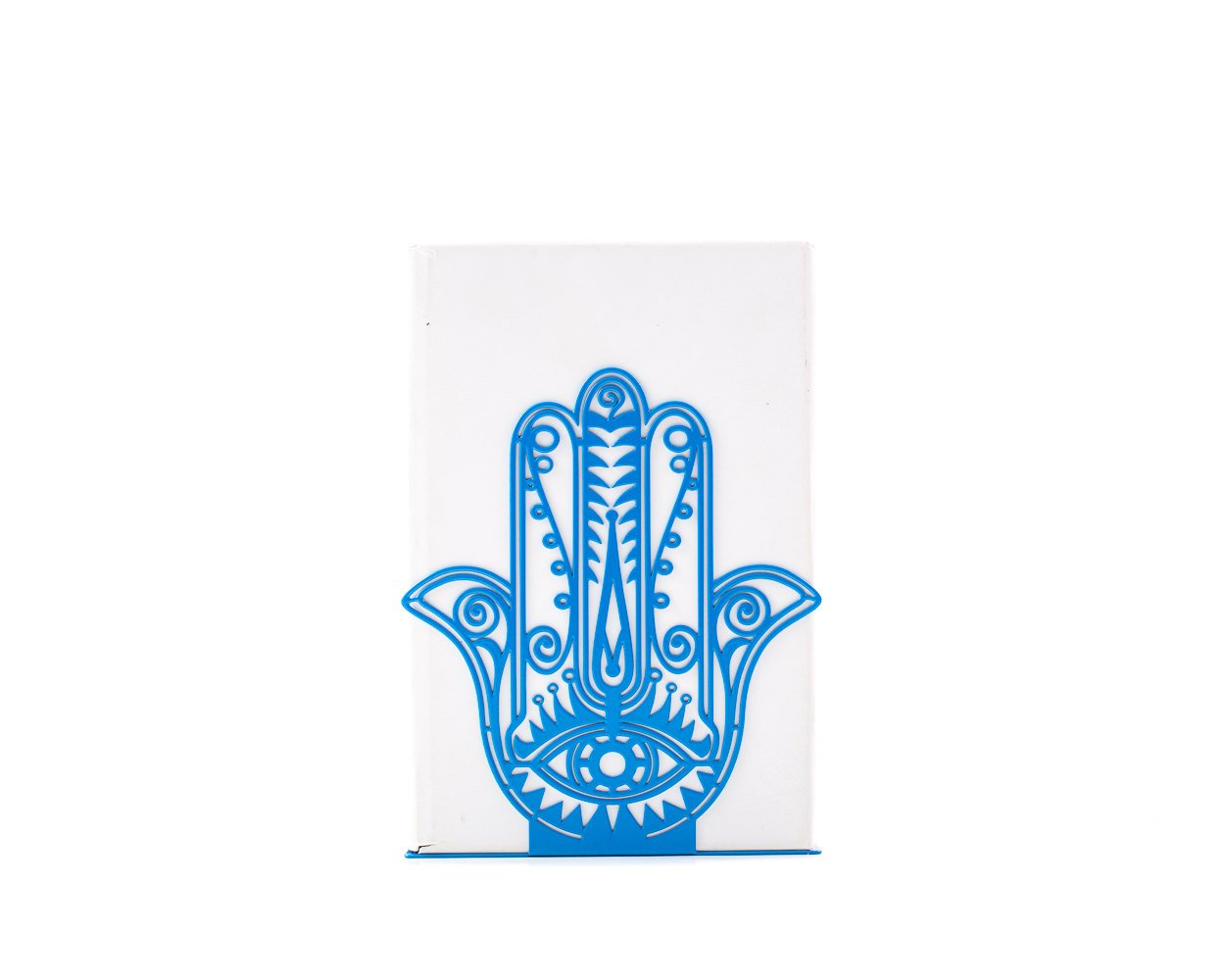 One unique bookend Hamsa // Decorative and Artistic functional decor for your considered home // FREE SHIPPING