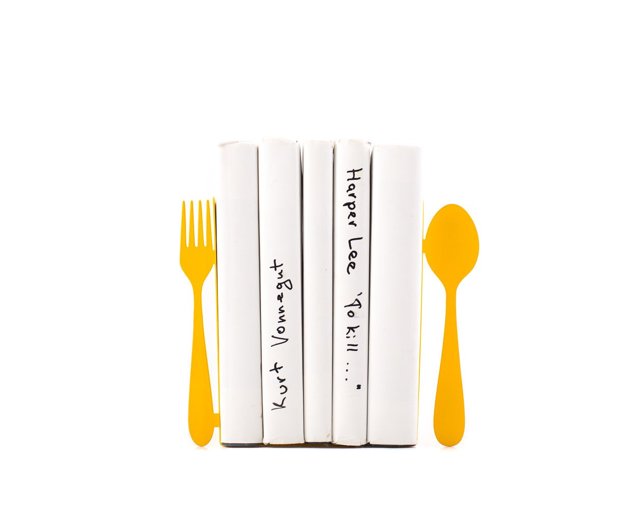 Exceptionnel Unique Metal Kitchen Bookends Fork And Spoon // Decorative Book Holders //  Functional Kitchen ...