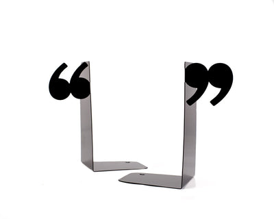 Decorative Bookends - Quotation marks - by Atelier Article - Design Atelier Article
