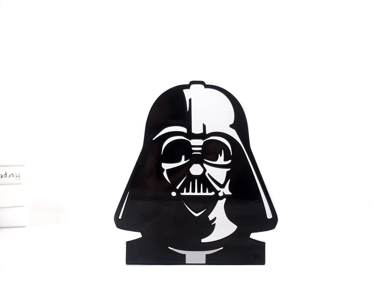 One Decorative bookend // Darth Vader // modern functional decor for the Star Wars books // FREE SHIPPING // perfect housewarming gift - Design Atelier Article