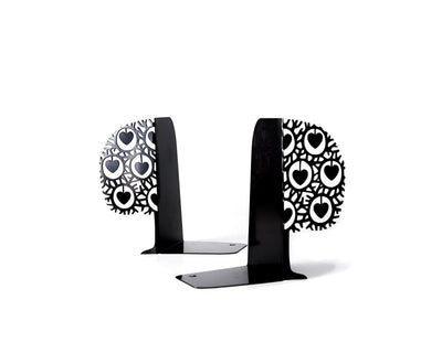 Metal bookends Danish heart tree by Atelier Article - Design Atelier Article
