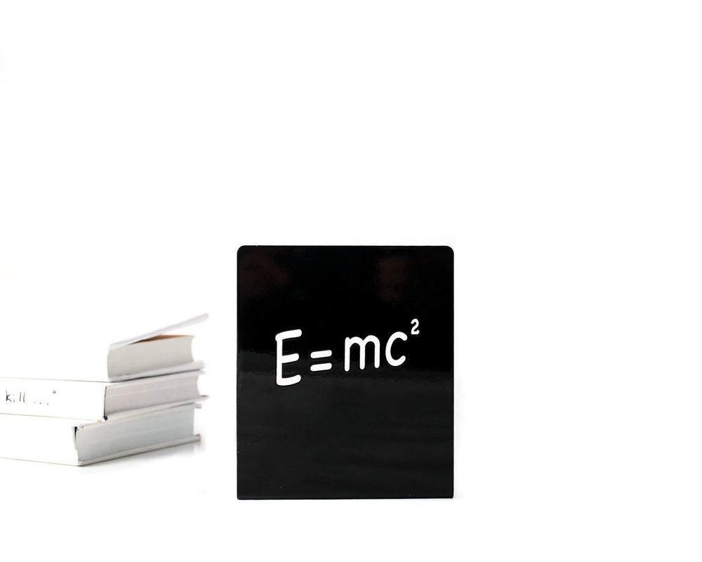 Unique Bookends // Einstein and the formula // by Atelier Article