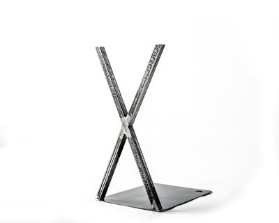 Decorative Bookends - Raw X factor - // minimalistic and pure // FREE  SHIPPING - Design Atelier Article