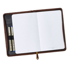 Saddle Tan Faux Leather Bible Study Kit - John 3:16
