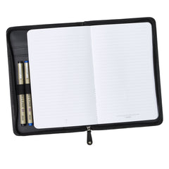 Black Faux Leather Bible Study Kit with Cross