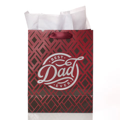 Best Dad Ever Medium Gift Bag