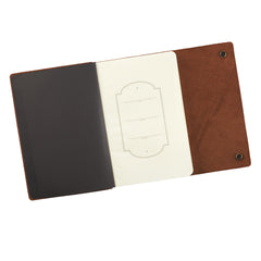 Stand Firm in the Lord Classic Full Grain Leather Journal with Button Closure – Philippians 4:1