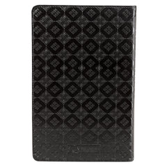 Black Faux Leather King James Version Deluxe Gift Bible with Thumb Index