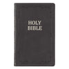 Black Premium Leather Gift and Award Bible - KJV