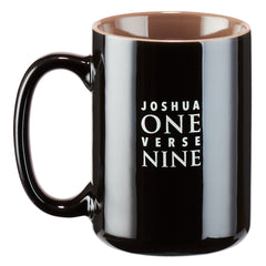 Strong and Courageous Joshua 1:9 Coffee Mug