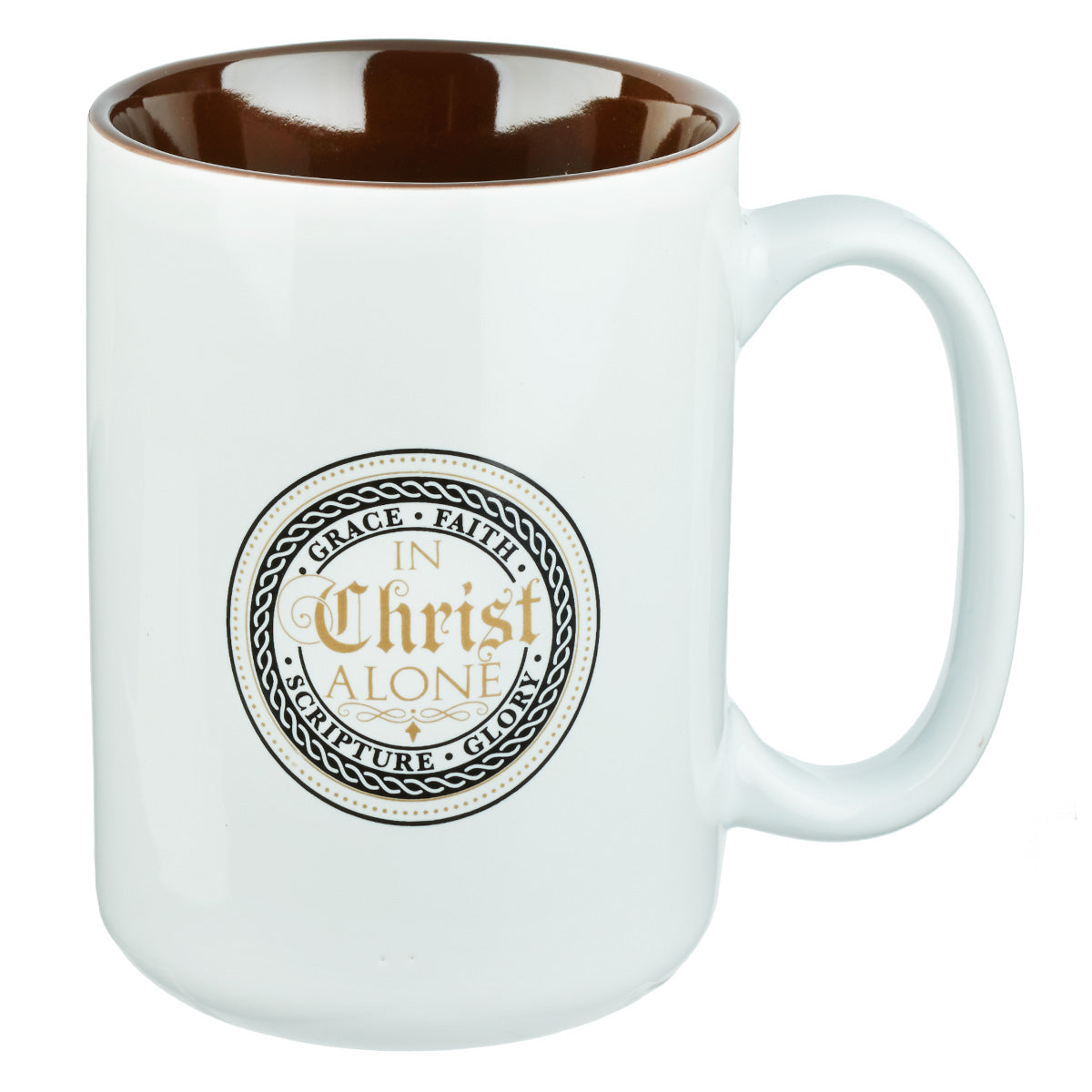The 5 Solas Collection In Christ Alone Coffee Mug