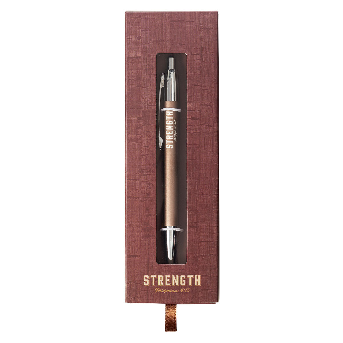Strength Gift Classic Gift Pen - Philippians 4:13