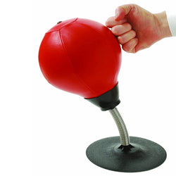 Mini Desktop Punching Bag - Great Stress Reliever!