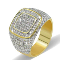 Golden Hip Hop Ring