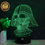 3D Star Wars Lamp