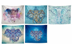 Bohemian Elephant Wall Tapestry Decor