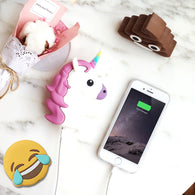Emoji and Unicorns Power Bank