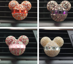 Bejeweled Mickey Mouse Air Freshener