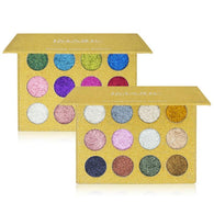 12 Colors Glitters Eyeshadow Palette