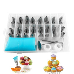 Cake Decorating Nozzle Set Icing Pipe