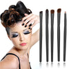 Professional Eyeshadow Brush Set with Compact Case
