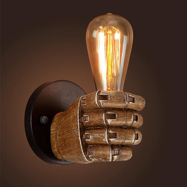 Industrial Retro Resin Wall Lamp