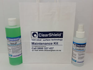 ClearShield Maintenance Kit for Interior & Exterior Glass