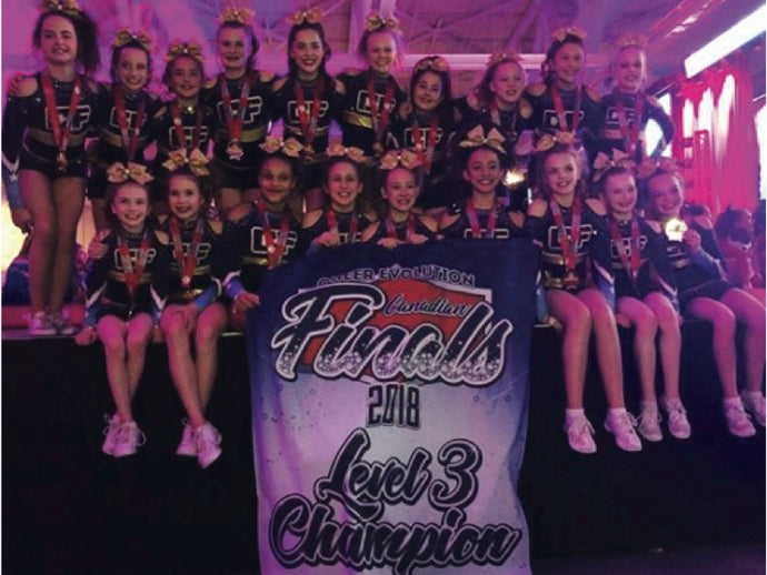CHEER EVOLUTION NATIONALS RESULTS