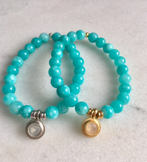 Hope Bracelet with Amazonite