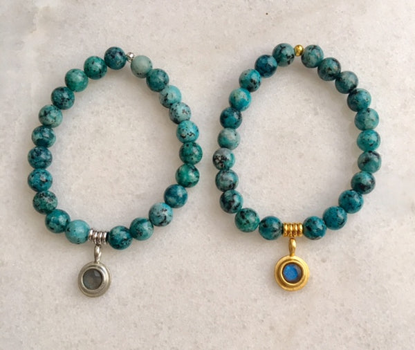 Positivity Bracelet with Turquoise