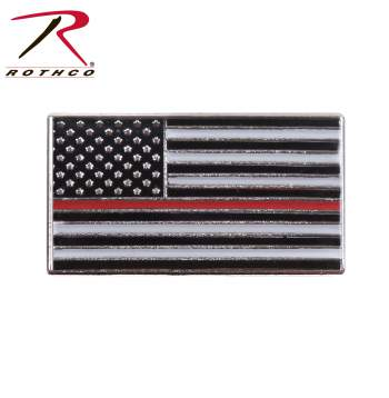 Rothco Thin Red Line Flag Pin
