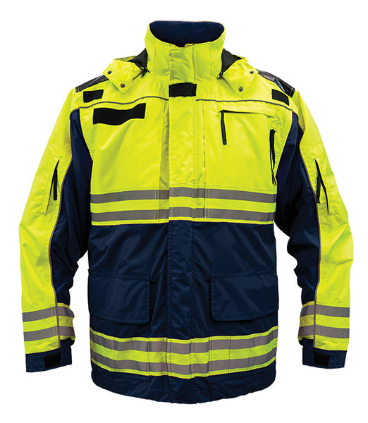 The Rescue Jacket Hi-Vis ANSI/ISEA 107-2015 Class 2